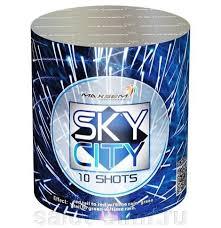 SKY CITY BLUE. 10 ЗАЛПОВ. КАЛИБР - 20 мм.