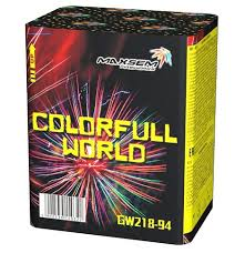 RED COLORFULL WORLD, 12 ЗАЛПОВ